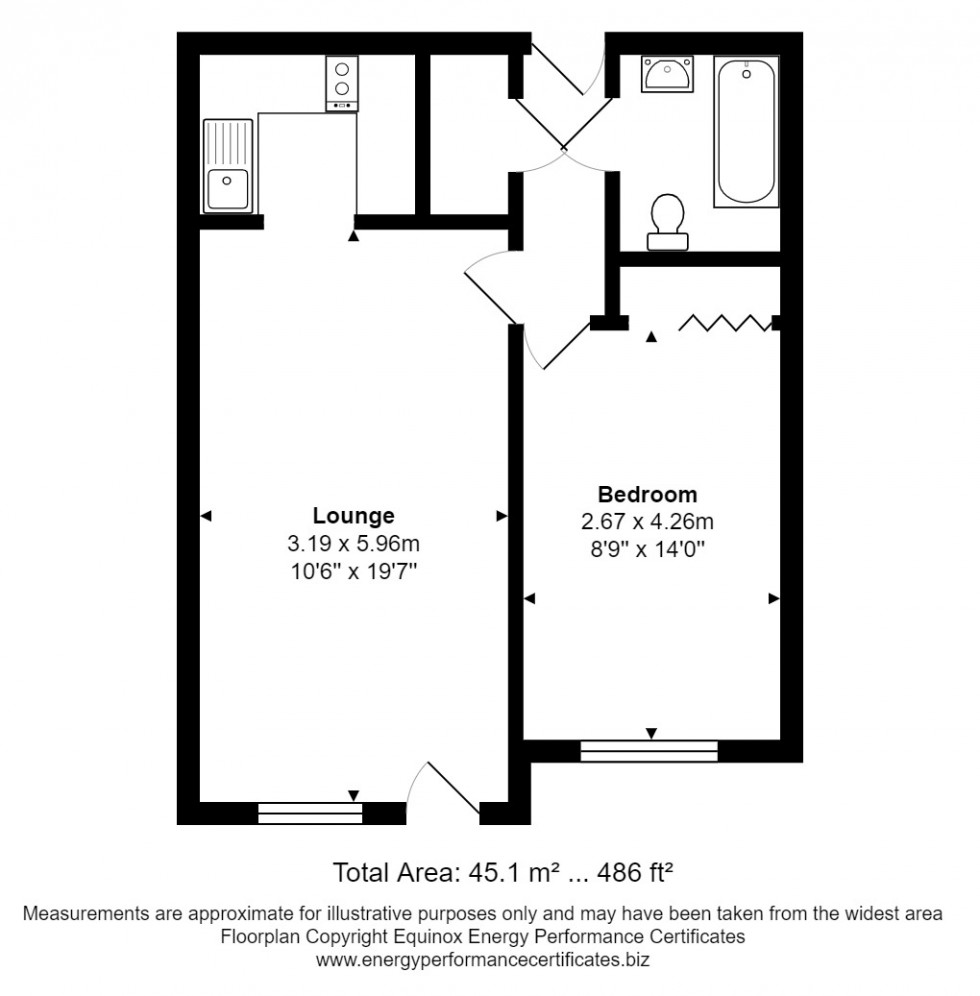 Floorplan for Chelmsford, Essex